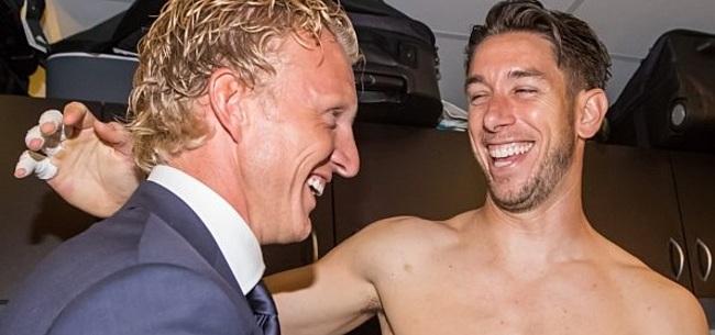 Foto: Kuyt laat zijn licht schijnen op transfers bij Feyenoord