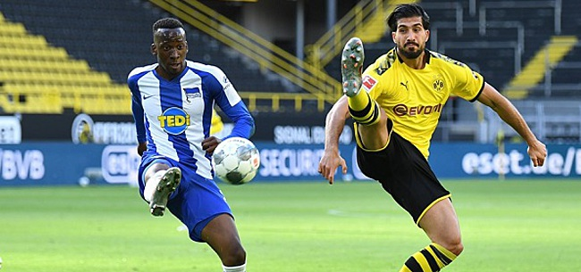 Foto: Dortmund knokt zich naar nipte zege, Dilrosun valt uit