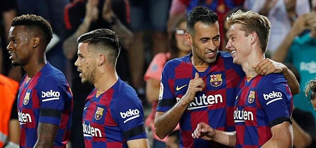 Foto: De Jong ontzettend belangrijk voor Barcelona met doelpunt en assist