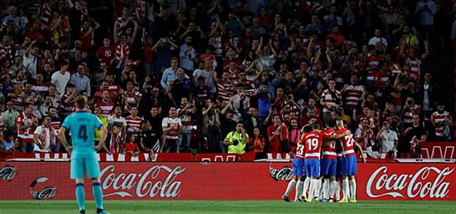Foto: Dramatisch Barcelona blameert zich compleet tegen Granada