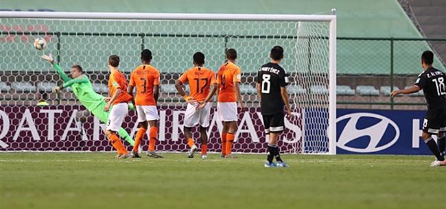 Foto: Oranje Onder-17 radeloos: