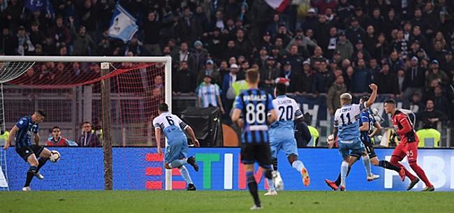 Foto: Lazio schiet bekerdroom De Roon en Hateboer aan diggelen