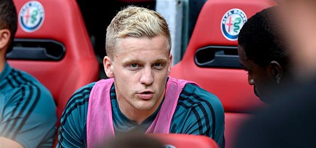 Foto: 'Van de Beek hoopt op mooi gebaar van Ajax'