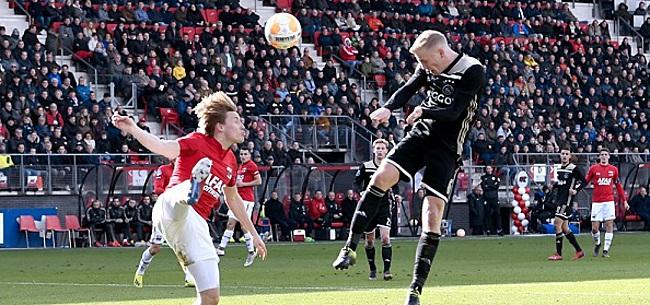 Foto: Van de Beek ziet Ajax falen: