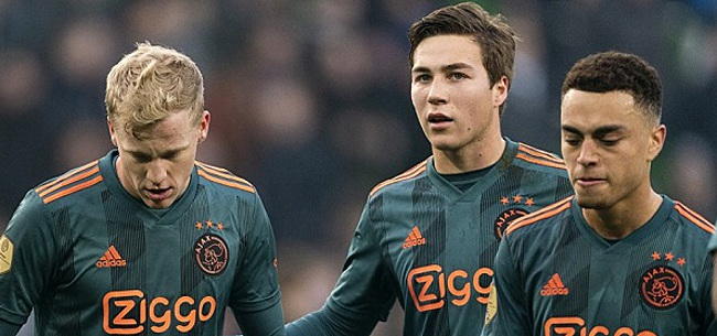 Foto: De Mos: 'In het Nederlands elftal beter dan bij Ajax'