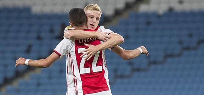 Foto: 'Van de Beek heeft transfer beet dankzij harde voorwaarde'
