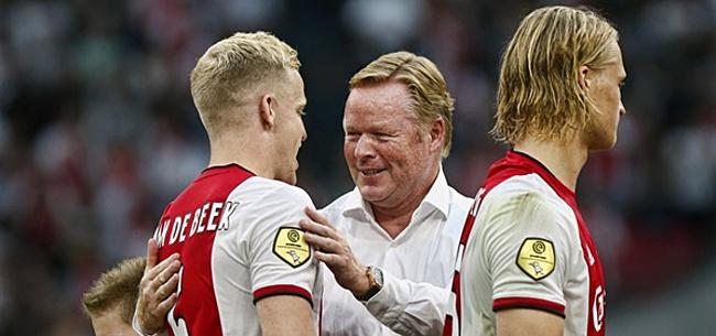 Foto: 'Oranje-international moet Van de Beek vervangen bij Ajax'