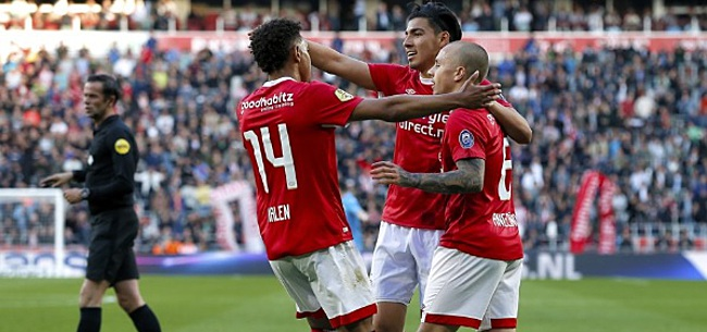 Foto: PSV komt terug van snelle achterstand en besluit teleurstellend jaar met zege
