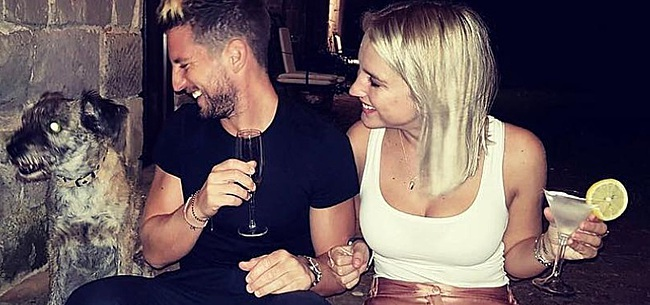 Foto: FOTO: Dries Mertens komt met geniale Instagram-post over Kat Kerkhofs