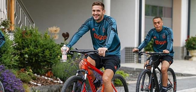 Foto: Tadic drukt Ajax-fans op het hart: