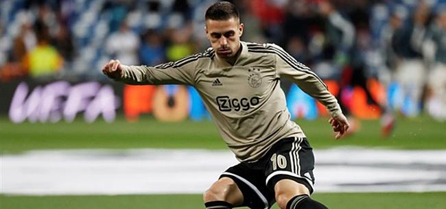 Foto: Nieuwe uitlatingen Tadic laten Ajax-supporters beven