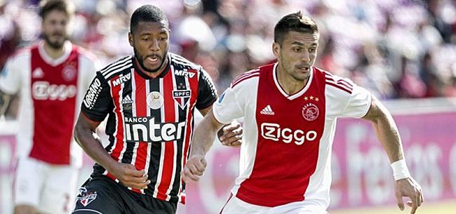 Foto: Ajax slaat in slotfase toe tegen spijkerharde Brazilianen