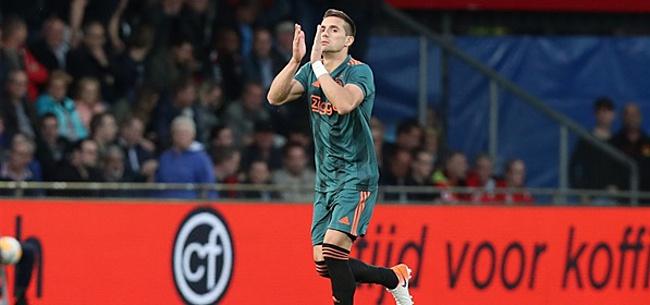 Foto: Tadic legt uit: 'Daarom contractverlenging getekend'