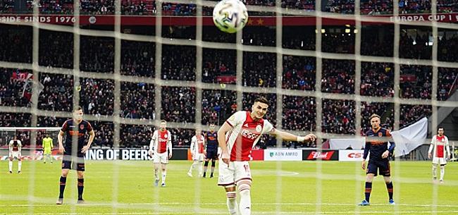 Foto: Fans gaan los tijdens Ajax-RKC: