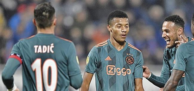 Foto: Ajax maakt zich zorgen: vervelend blessurenieuws over basisspeler