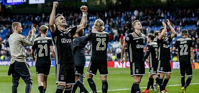 Foto: Ajax loot Juventus in kwartfinales van de Champions League