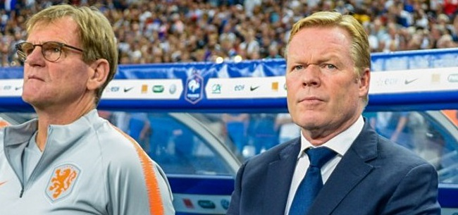 Foto: Oranje-fans verbijsterd door Koeman: