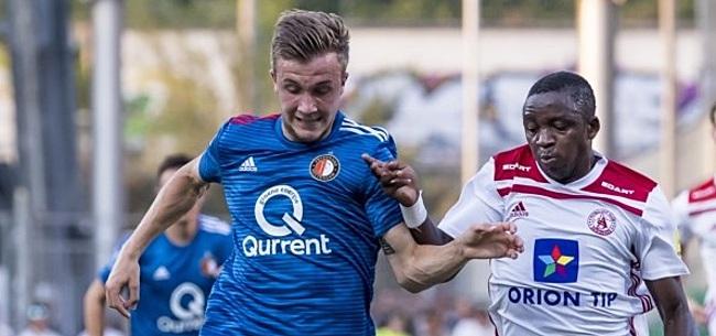 Foto: Amateuristisch Feyenoord heeft wonder nodig in De Kuip