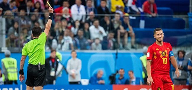Foto: Hazard sneert naar Fransen: 'Dan verlies ik liever met dit België'