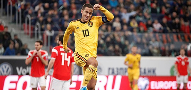 Foto: 'Hazard sluit merkwaardige EK-deal met Real Madrid'