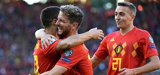Foto: Mertens: 'Nu moet hij de beste speler ter wereld worden'