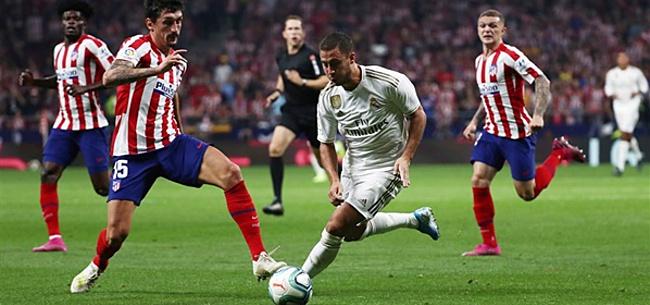 Foto: België houdt adem in door Hazard: