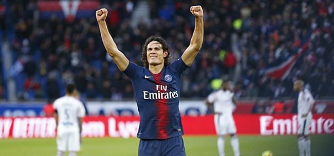 Foto: Cavani schiet Paris Saint-Germain naar zege, maar raakt ook geblesseerd