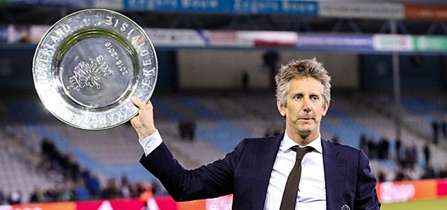 Foto: Zoon Edwin van der Sar maakt transfer terug naar oude nest