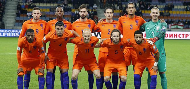 Foto: 'Oranje-spelers lieten peperdure diamanten aanrukken'