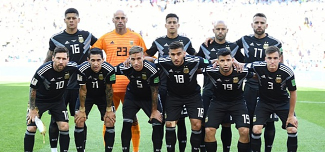 Foto: VIDEO: Lucky doelpunt helpt Argentinië zeer verrassend op voorsprong