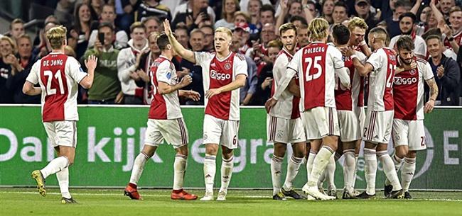 Foto: Overwinning op Vitesse brengt Ajax dichter bij kampioenschap