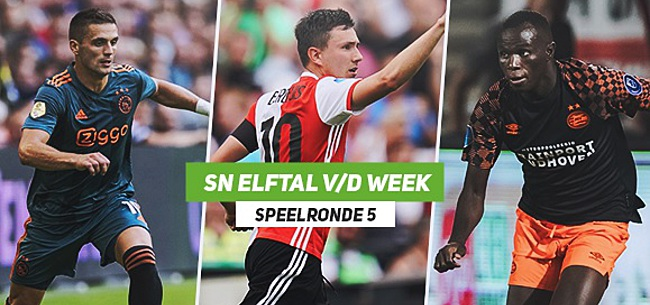 Foto: SN Elftal van de Week: Ajax en FC Twente hofleveranciers