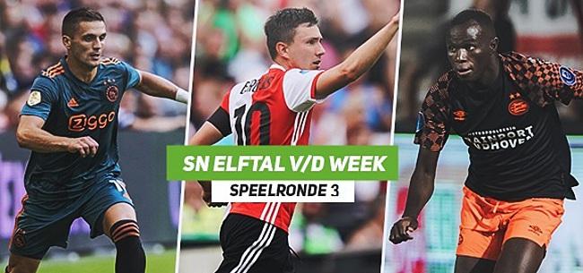 Foto: SN Elftal van de Week: Schamel Feyenoord-lichtpunt, één Ajacied