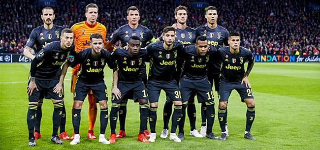 Foto: 'Juventus in de problemen voor wedstrijd tegen Ajax'