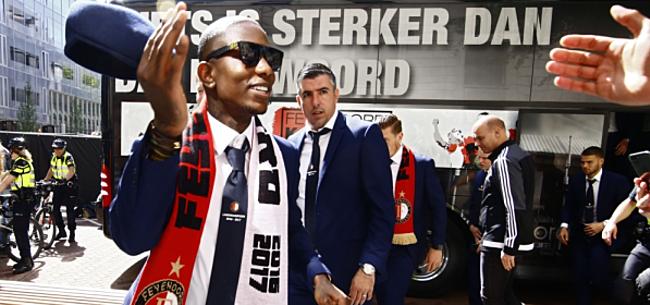 Foto: Elia: had thuis ruzie toen ik verlengde bij Feyenoord