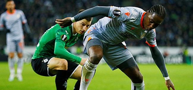 Foto: Elia baalt van Feyenoord: