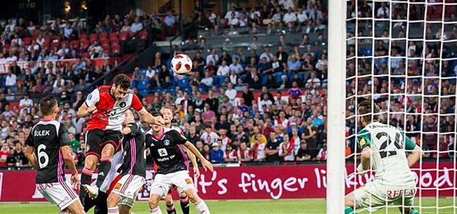 Foto: Feyenoord-fans zeggen vertrouwen op: