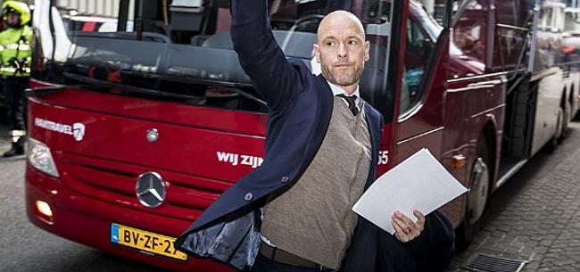 Foto: 'Ten Hag kiest voor deze elf Ajacieden tegen Spurs'