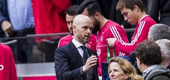 Foto: 'Ten Hag creëert verdeeldheid binnen Ajax-selectie met ingreep'