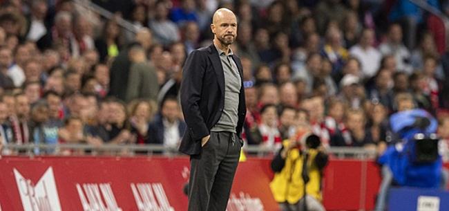 Foto: Bayern München-fans gaan helemaal los over Erik ten Hag