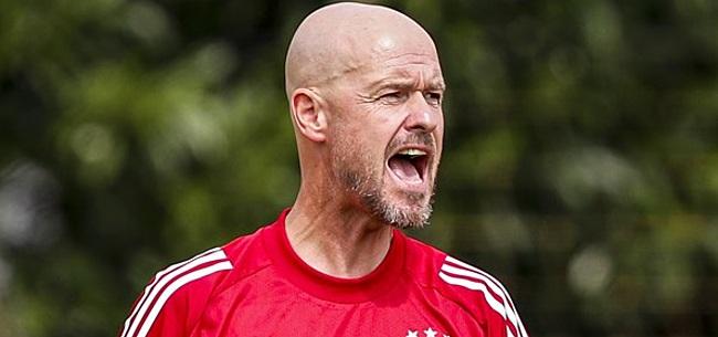 Foto: Ten Hag vreest gebrek aan motivatie Ajax-spelers en grijpt in