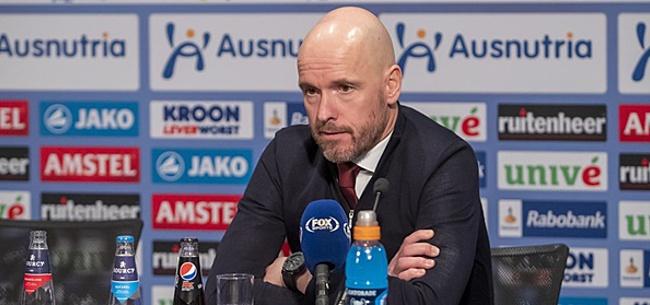 Foto: 'Ajax raakt Ten Hag deze zomer mogelijk kwijt'