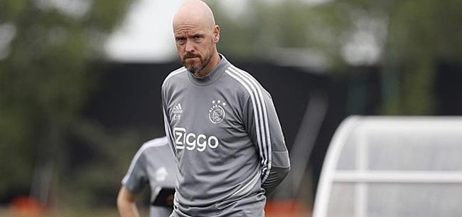 Foto: 'Ten Hag zorgt mogelijk voor grote verrassing bij Ajax'
