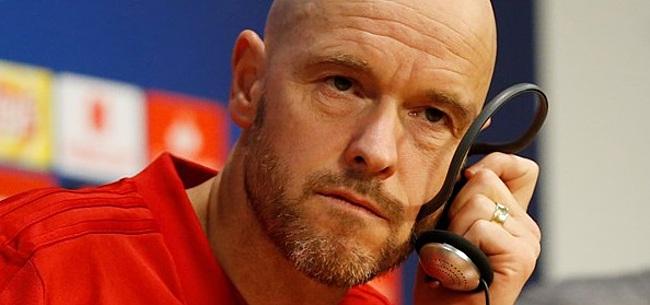 Foto: Ten Hag reageert op UEFA-idee: