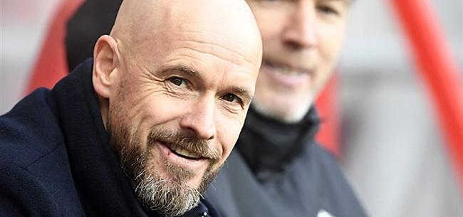 Foto: 'Ten Hag frustreert supporters met opstelling Ajax tegen AZ'