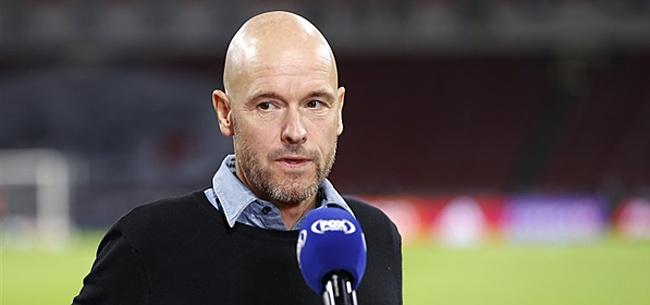 Foto: 'Ten Hag gooit Ajax-opstelling al weer om'