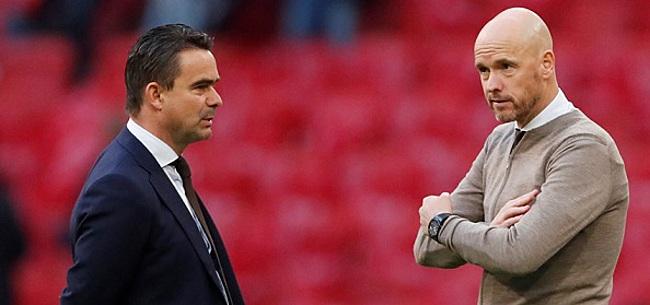 Foto: Overmars vestigt met Promes nog geen nieuw Ajax-record