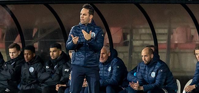 Foto: FC Den Bosch-trainer Van der Ven slaapt niet thuis na bedreigingen