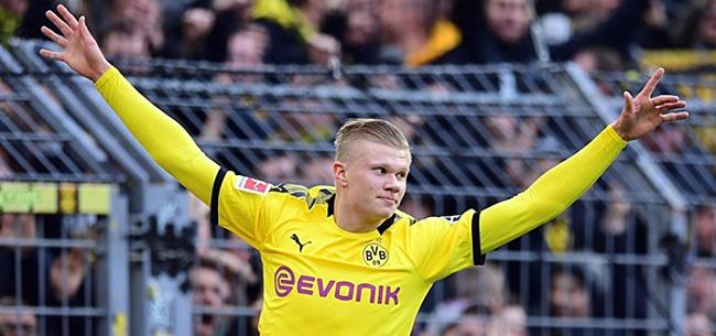 Foto: Erling Haaland wint prijs Bundesliga