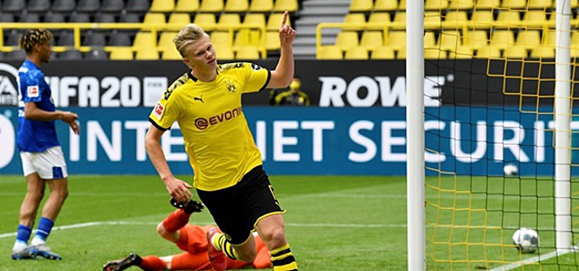 Foto: 'Haaland maakt mondelinge transferafspraak met Dortmund'